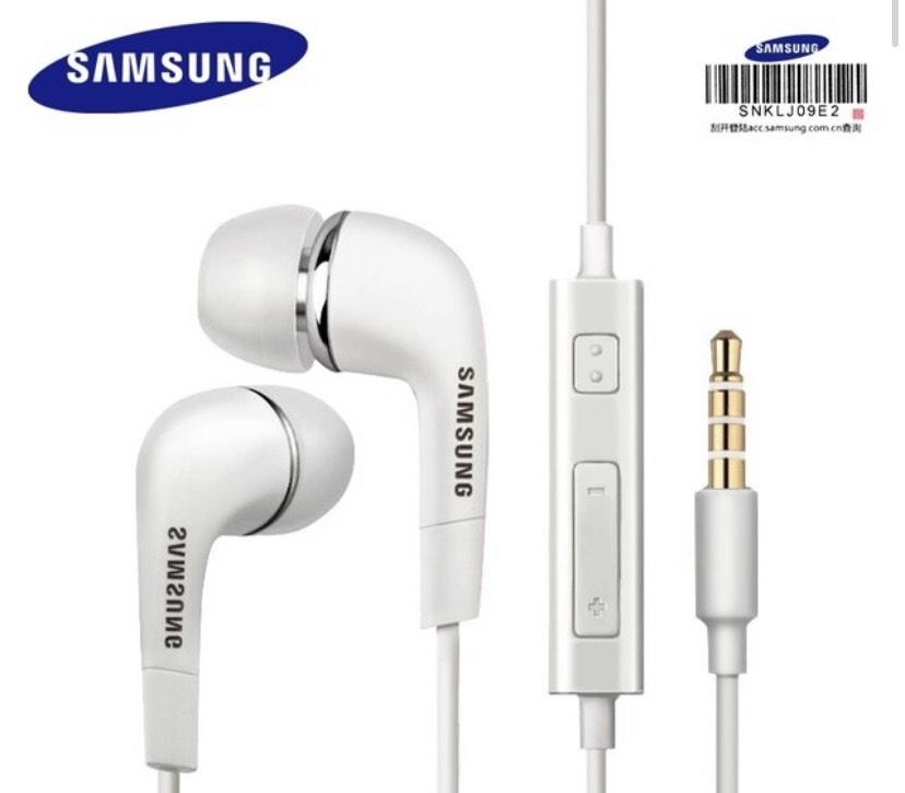Auriculares Manos Libres Samsung EHS64 Blanco