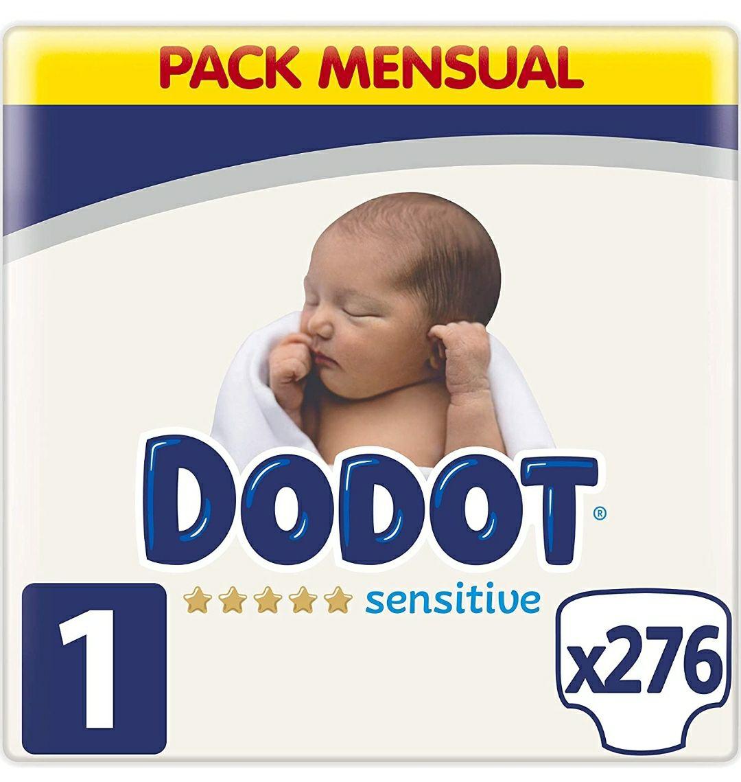 Pañales talla 1 Dodot a 14cents+ pack de Dodot gratis en la app Dodot VIP