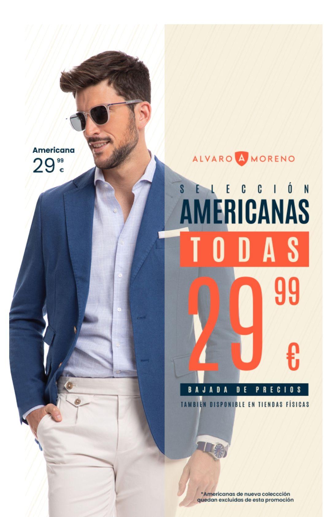 Selección de Americanas Álvaro moreno a 29.99. Bastante modelos y tallas