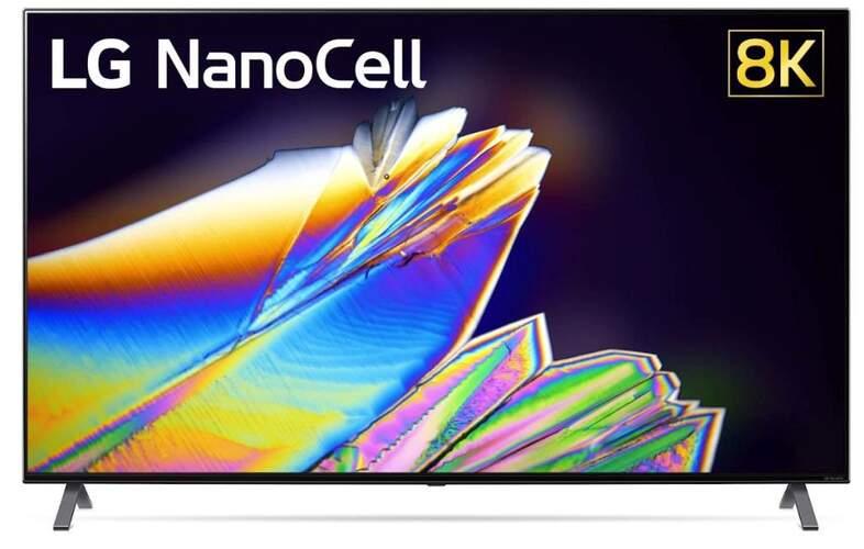 TV NanoCell 8K LG 55NANO956 - IPS, Smart
