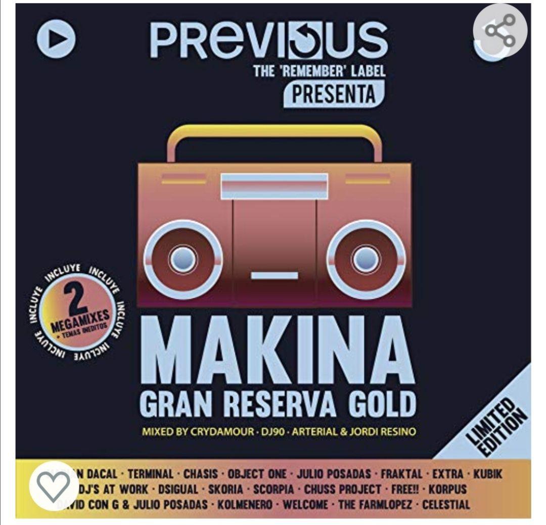 Cd recopilación música makina