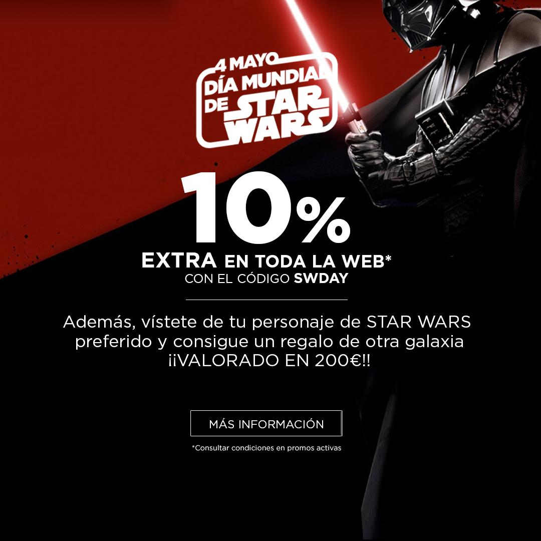10% extra en toda la web por el Día de Star Wars