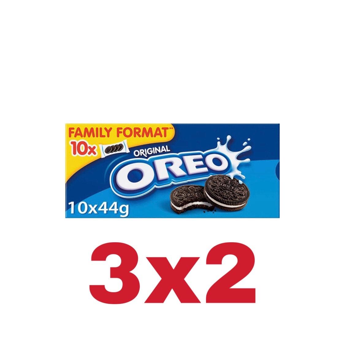 3 cajas de Oreo Familiar por 5.96€ | 3x2 Amazon