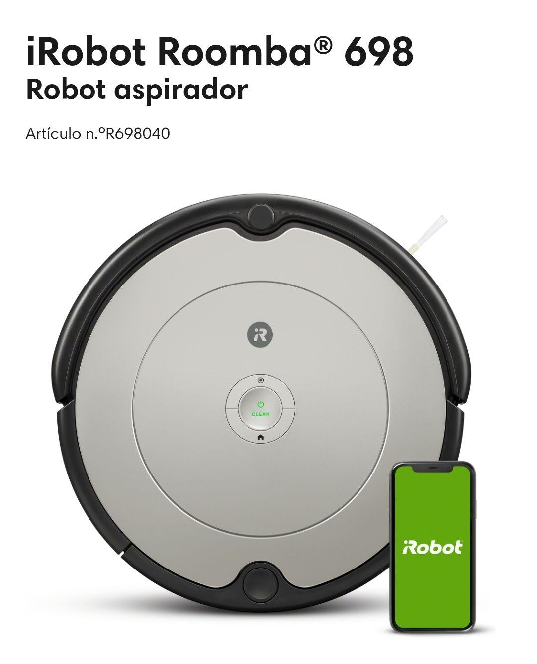 iRobot Roomba 698 (Web iRobot)