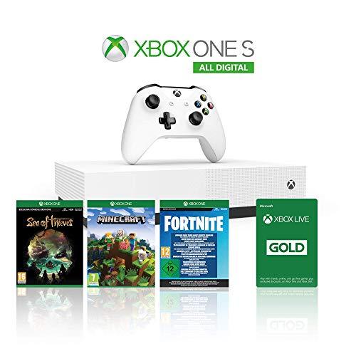 Xbox One S 1TB Digital (REACONDICIONADA)