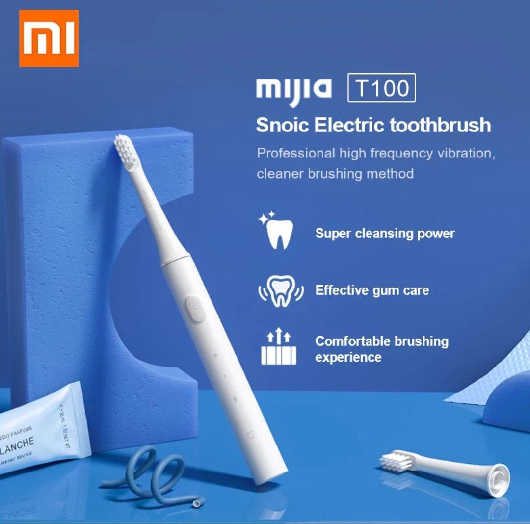 Xiaomi-Cepillo de dientes eléctrico - sónico tb a solo 11,33 ( con 3 recambios)