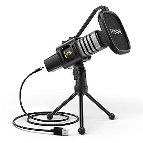 Micrófono USB de Condensador TONOR TC30 - Envío gratuito con Amazon Prime