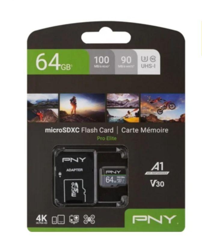 Tarjeta de Memoria Micro SD PNY Pro Elite (64 GB)