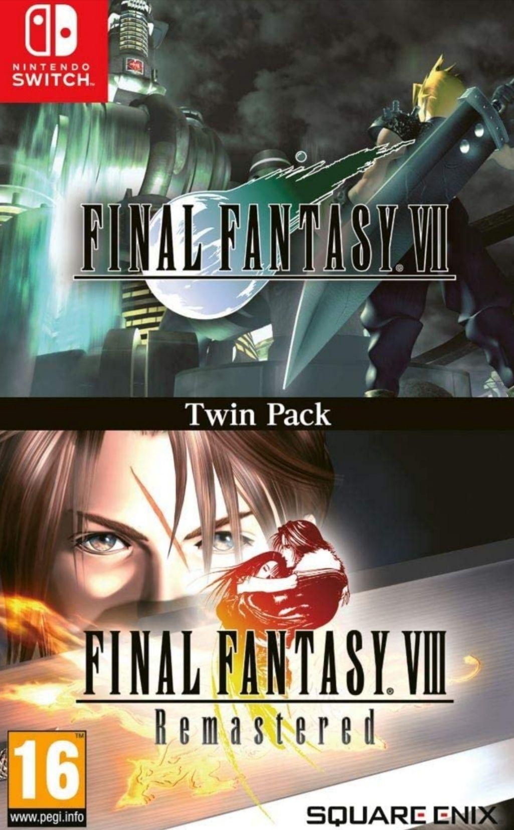 Final fantasy VII&VIII Nintendo Switch FÍSICO