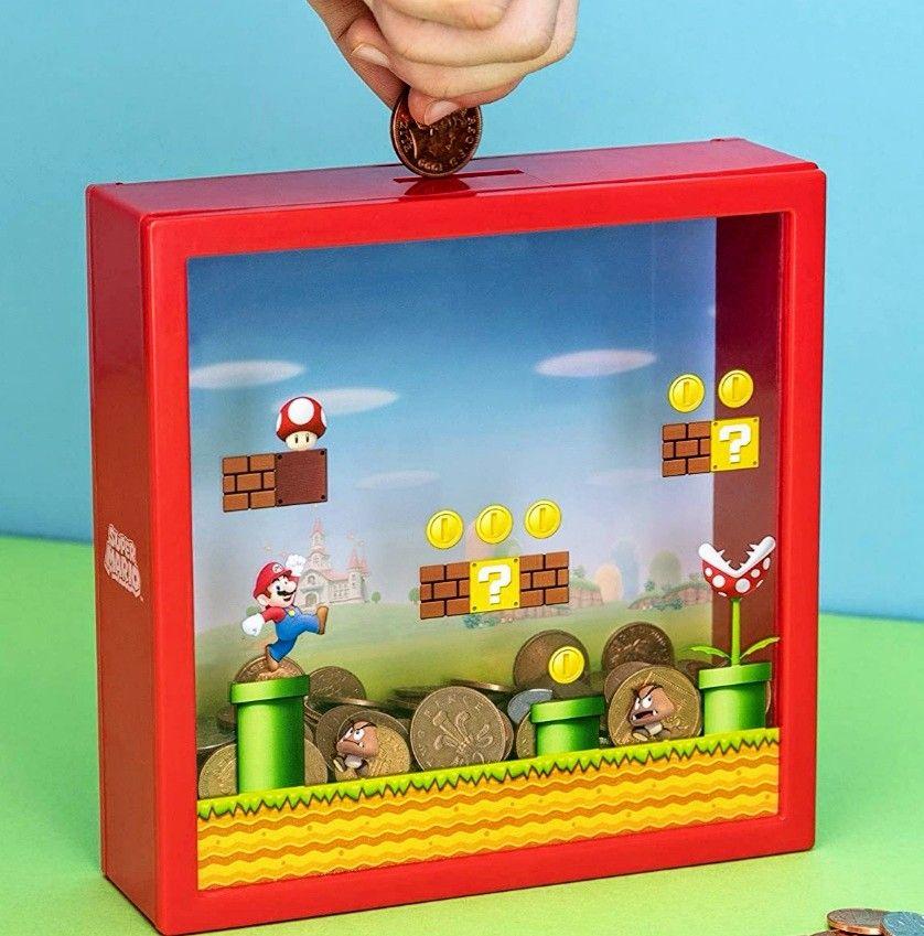 Paladone - Hucha Súper Mario Bros | Licencia Oficial