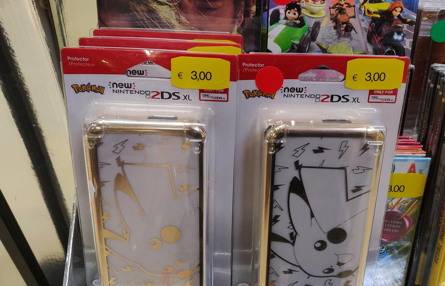 Carcasa Pikachu para New Nintendo 2DS XL (Eroski Bilbondo)