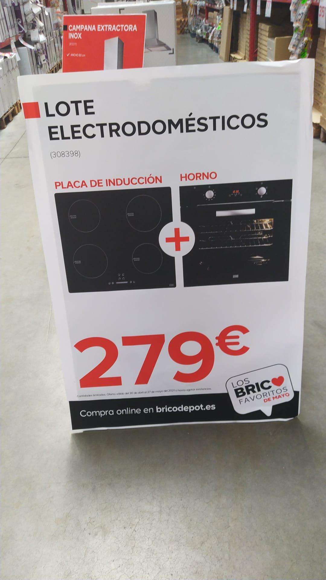 Placa de inducción + Horno multifunción (Visto en Valencia )