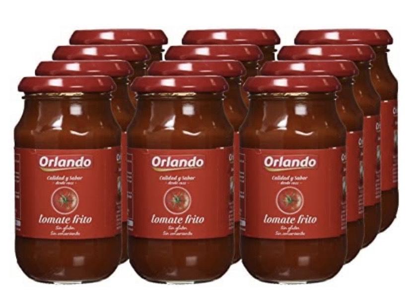 Pack de 12 Orlando - Tomate Frito - 295 g -