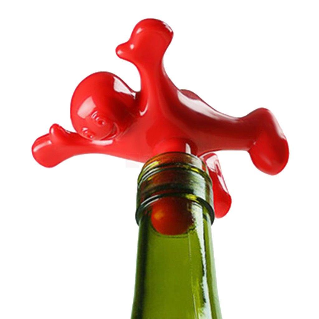 Tapón botella Hombre feliz