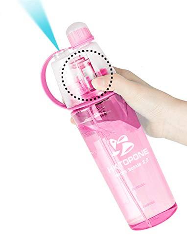 Botella de Agua 600 ml con nebulizador