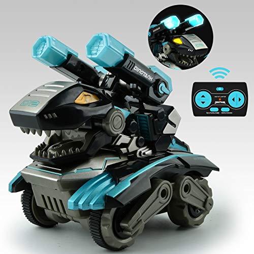Coche Teledirigido, Monstruo RC con luz LED Sonido y Batería Recargable