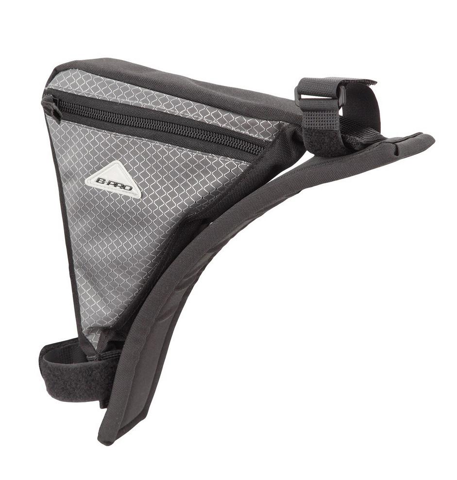 Bolsa triángulo portaobjetos para bicicleta 500 ml B-Pro por sólo 2,95€