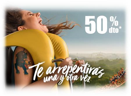 PARQUE DE ATRACCIONES - PROMOCIÓN UNIVERSIA 50%