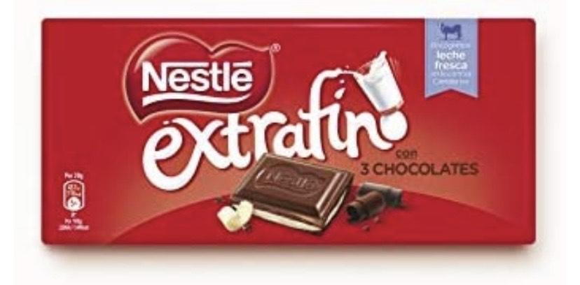 Nestlé Chocolate Extrafino 3 Chocolates - 25 (0,80 € unidad)