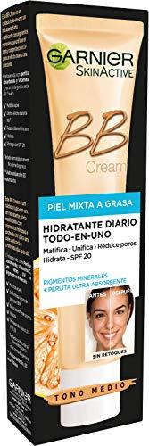 Garnier BB Cream hidratante piel mixta a grasa - tono medio