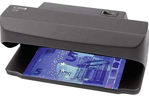 REACO Olympia UV 585 - Lámpara UV para la prueba de autenticidad del dinero (Muy bueno)