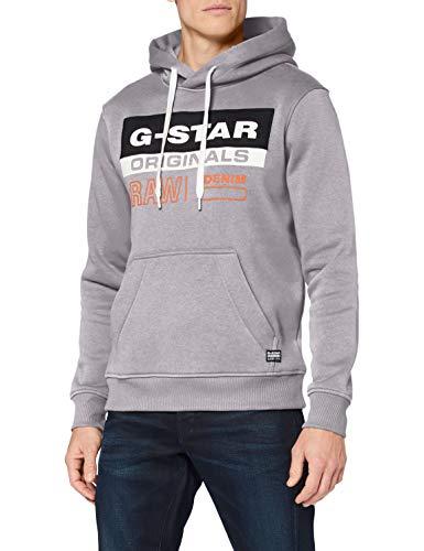 G-STAR RAW Sudadera con Capucha para Hombre (Talla S)