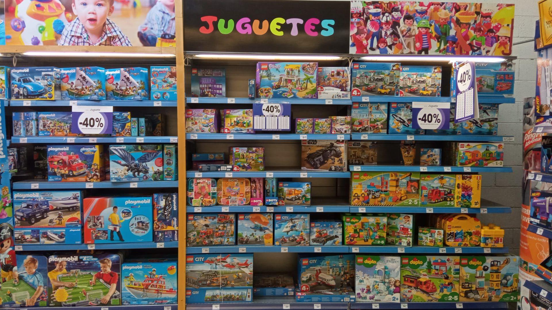40% de descuento en productos Playmobil y juguetería en Eroski Toledo