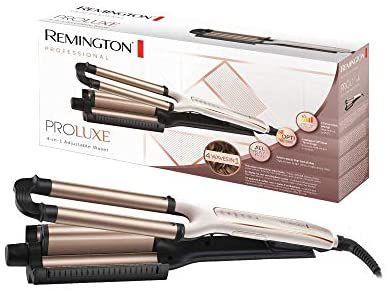 REACO Ondulador Remington PROluxe,4 tipos de ondas (Como nuevo)