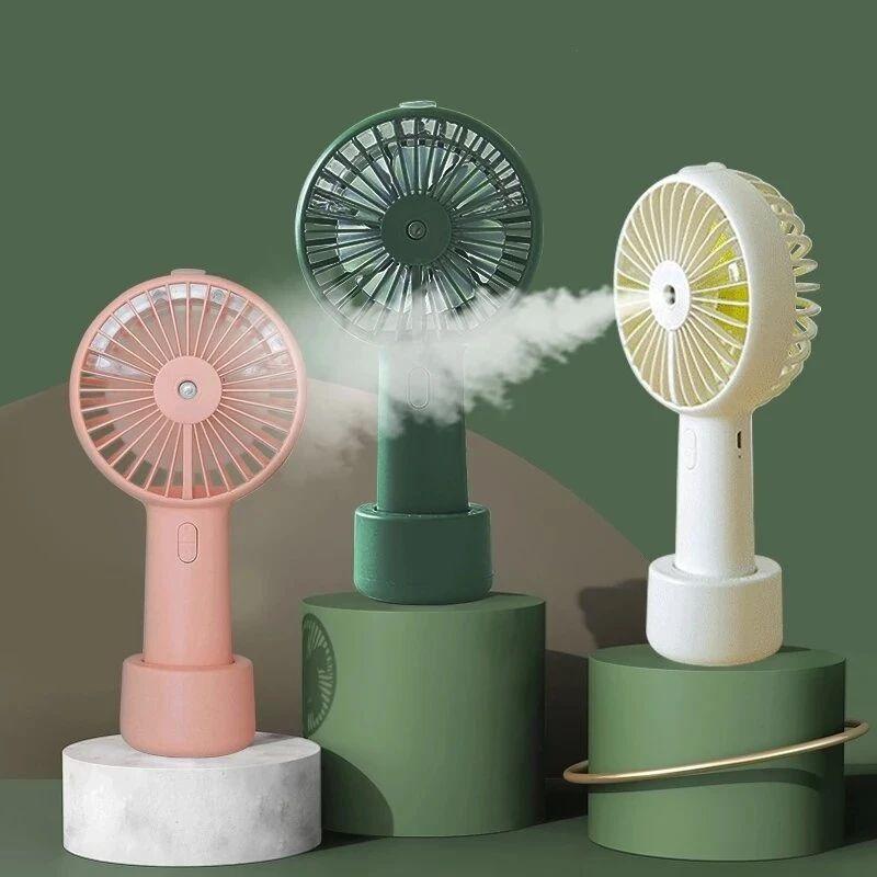 Ventilador de niebla de pulverización de agua portátil