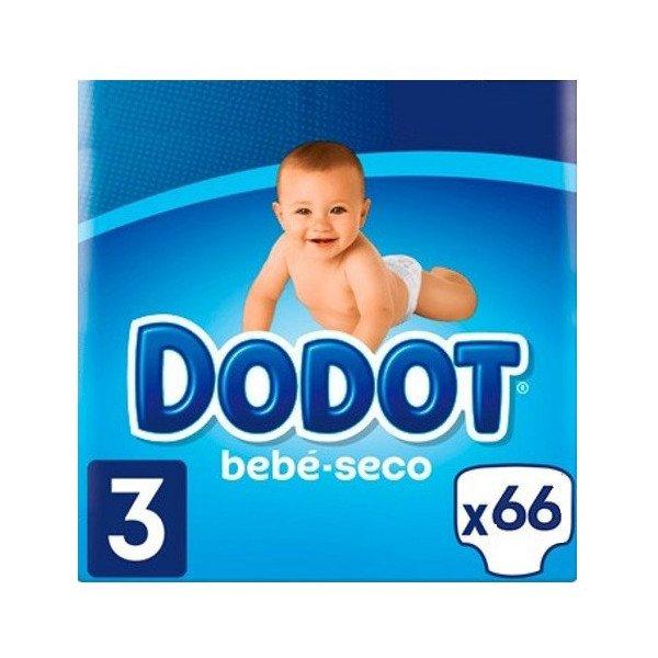 Pañales Bebé Seco Talla 3 (6-10Kg)