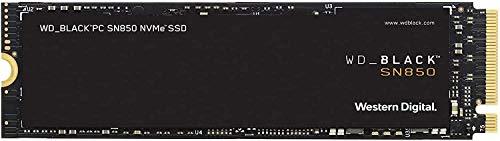 WD_BLACK SN850 1 TB - SSD NVMe PCIe Gen4