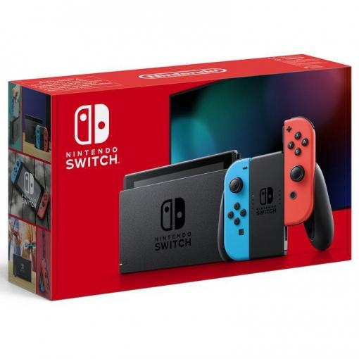 Nintendo Switch V2 Rojo/Azul Neon por 265€ Chollo Nº300 [Leer Descripción]