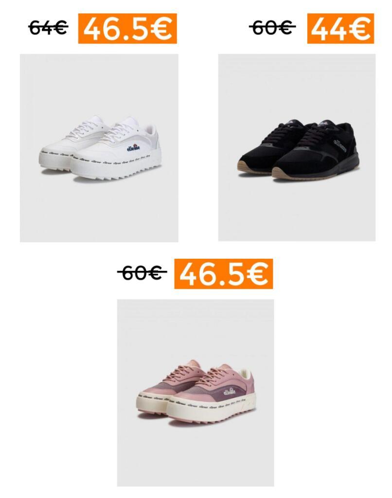 Rebajas en selección zapatillas ELLESSE (envío gratis)