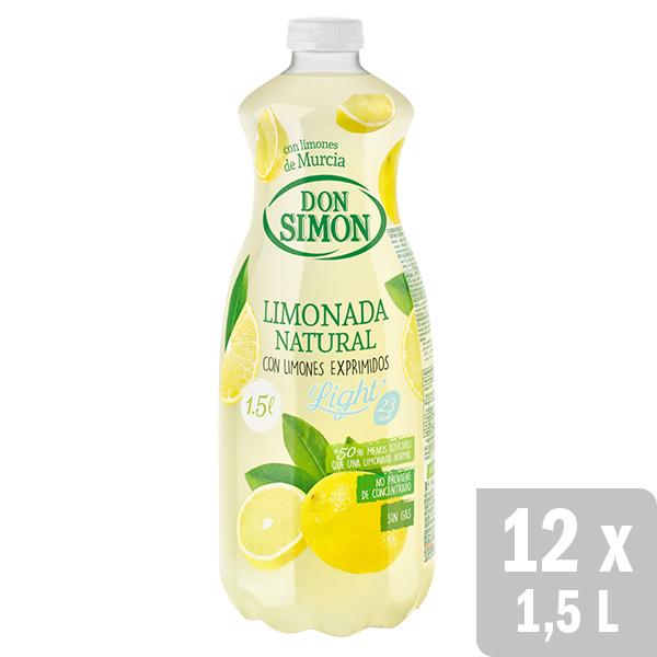 12 Limonadas de 1,5 litros + 24 néctares de 330 ml