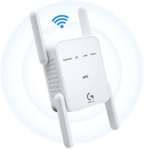 Repetidor WiFi 1200Mbps Doble banda