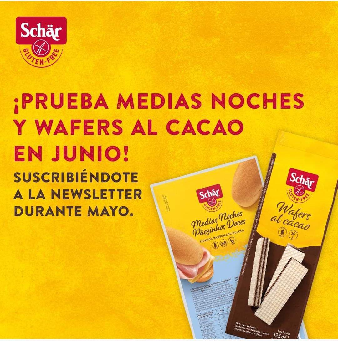 Medias Noches y Wafers de Chocolate gratis al comprar 1 producto