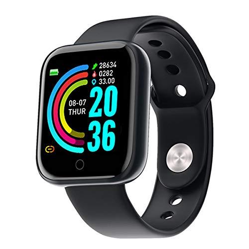 Smartwatch, Reloj Inteligente para Hacer Deporte para Mujer y Hombre, Contador de calorías, Monitor de Pulso, de sueño, Pasos Android e iOS