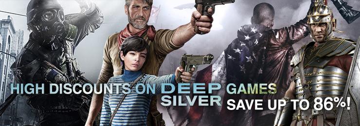 Juegos de la compañía deep silver hasta -86%