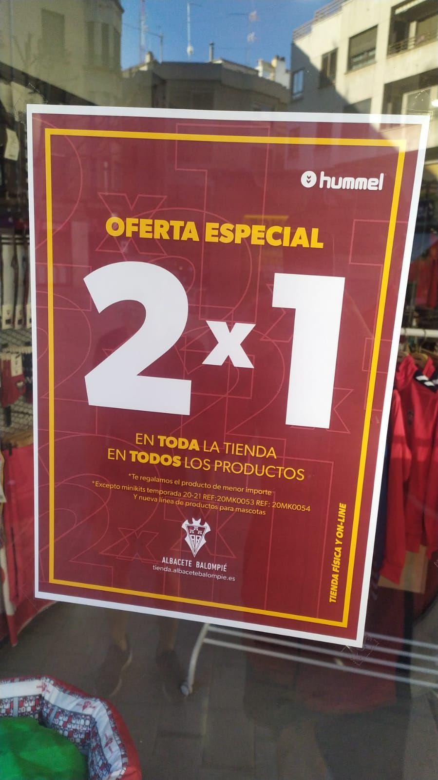 2x1 en la tienda oficial del Alba