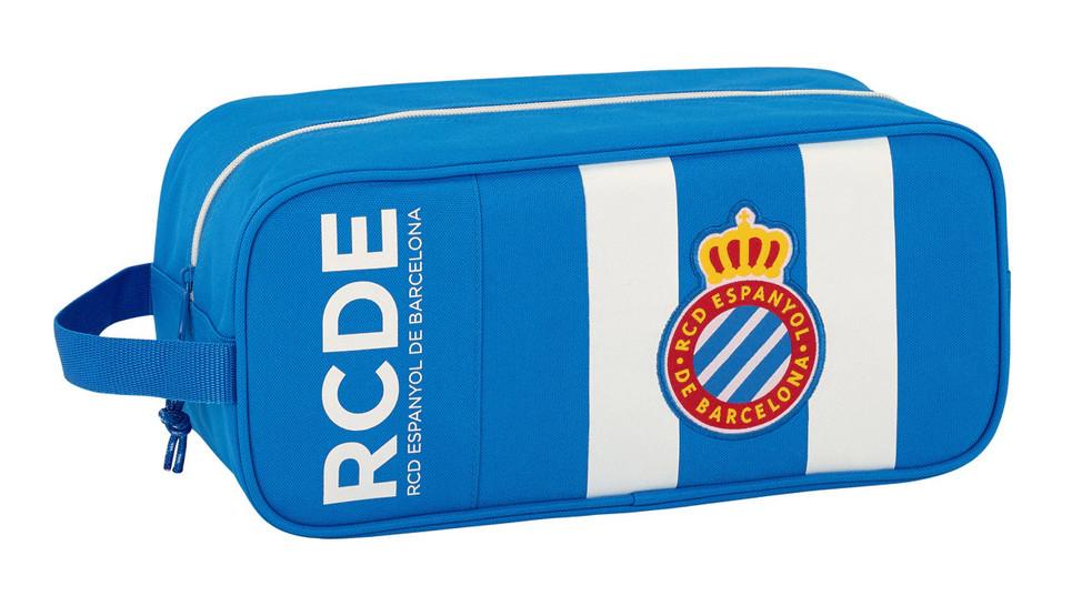 Zapatillero grande (34x14x15 cm) del RCD Espanyol por sólo 3,95€