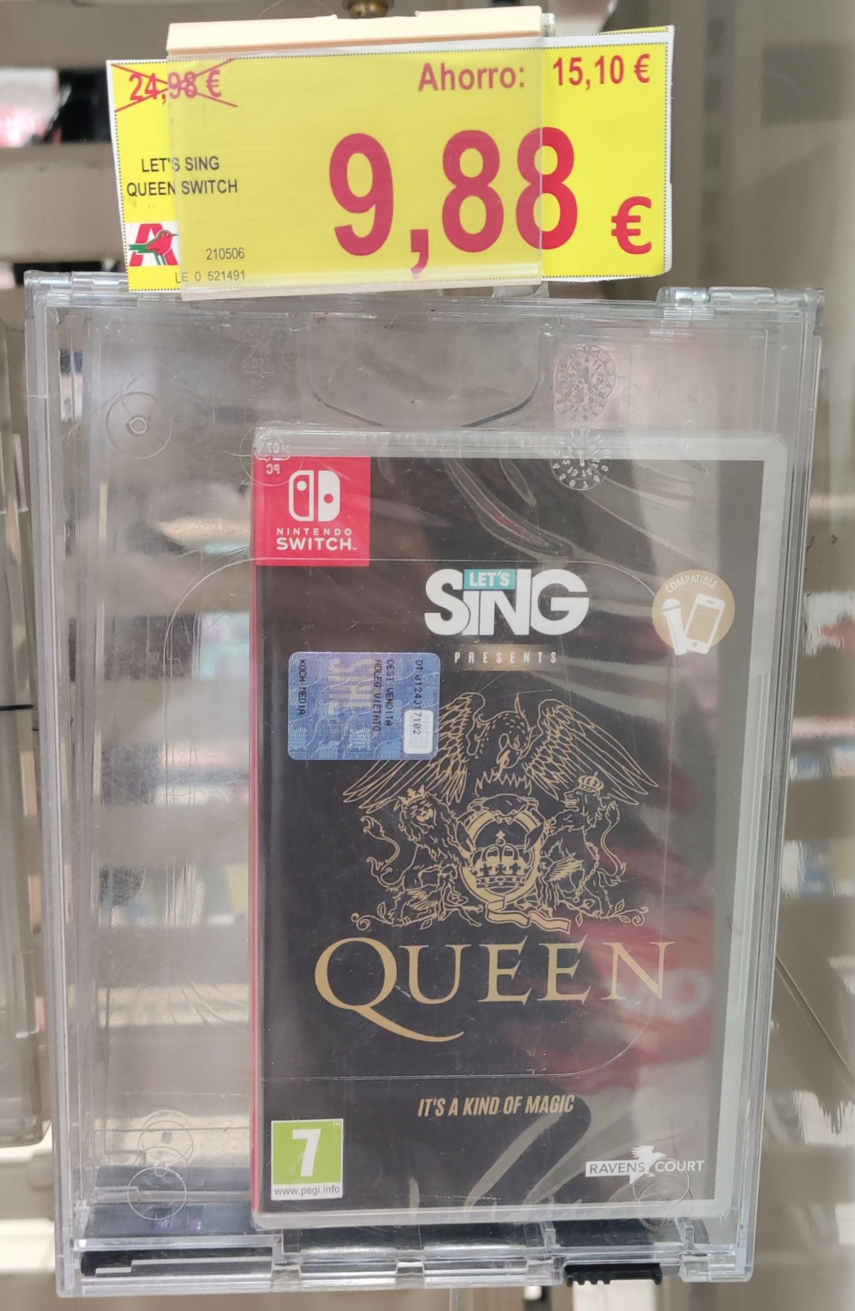 Let's Sing Queen Nintendo Switch Físico (Alcampo Burgos)