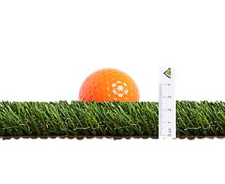 Rollo de césped artificial Alimia NATERIAL 2x5 m y 25 mm de altura de fibras