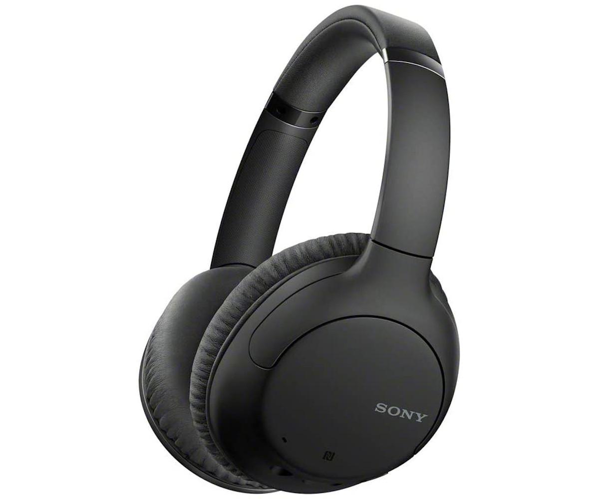 Auriculares inalámbricos - Sony WH-CH710N, Bluetooth, NFC, Micrófono, 35h autonomía, Cancelación ruido