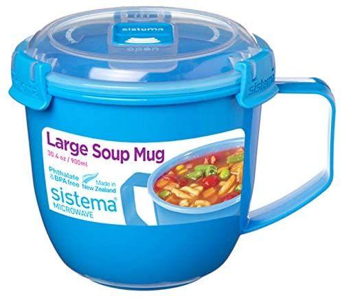 Sistema - Taza de Sopa para microondas