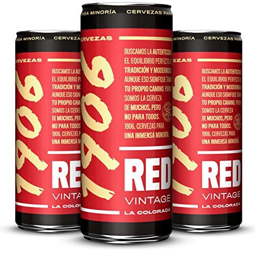 1906 Red Vintage Pack 24x33cl latas