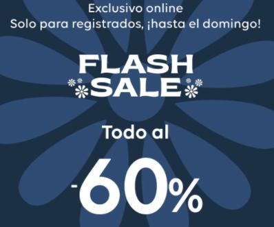 Flash Sale - TODO AL -60% - Desigual