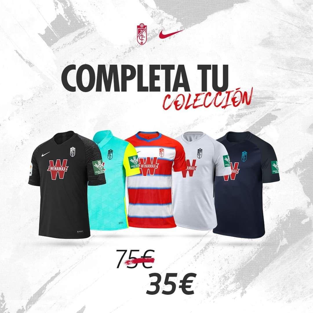 Camisetas Granada CF a mitad de precio