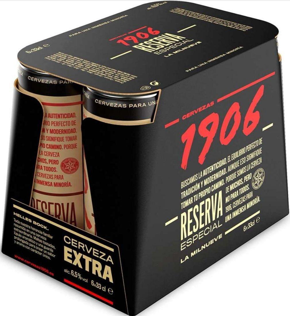 Cerveza Reserva Extra Especial 1906 [Pack 6 uds. x 33cl.] En Corte inglés x 3.90€
