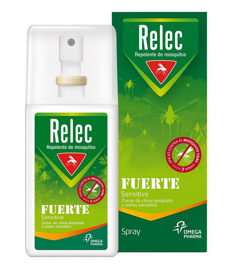 Repelente Mosquitos Fuerte Sensitive Relec por sólo 5,55€