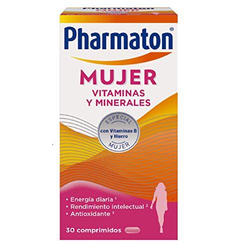 Pharmaton | Multivitaminas | Energía diaria | Mujer 30 comprimidos